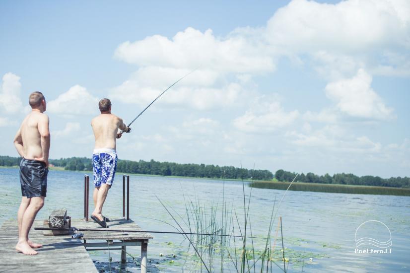 """""""Žvejo slėnis"""" – sodyba prie Galuono ežero - 13"""