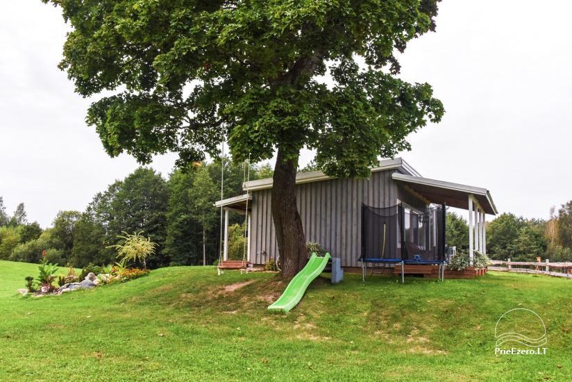 Šeimyninis namelis Molėtų rajone prie Virintų ežero Po Klevu, kubilas - 2