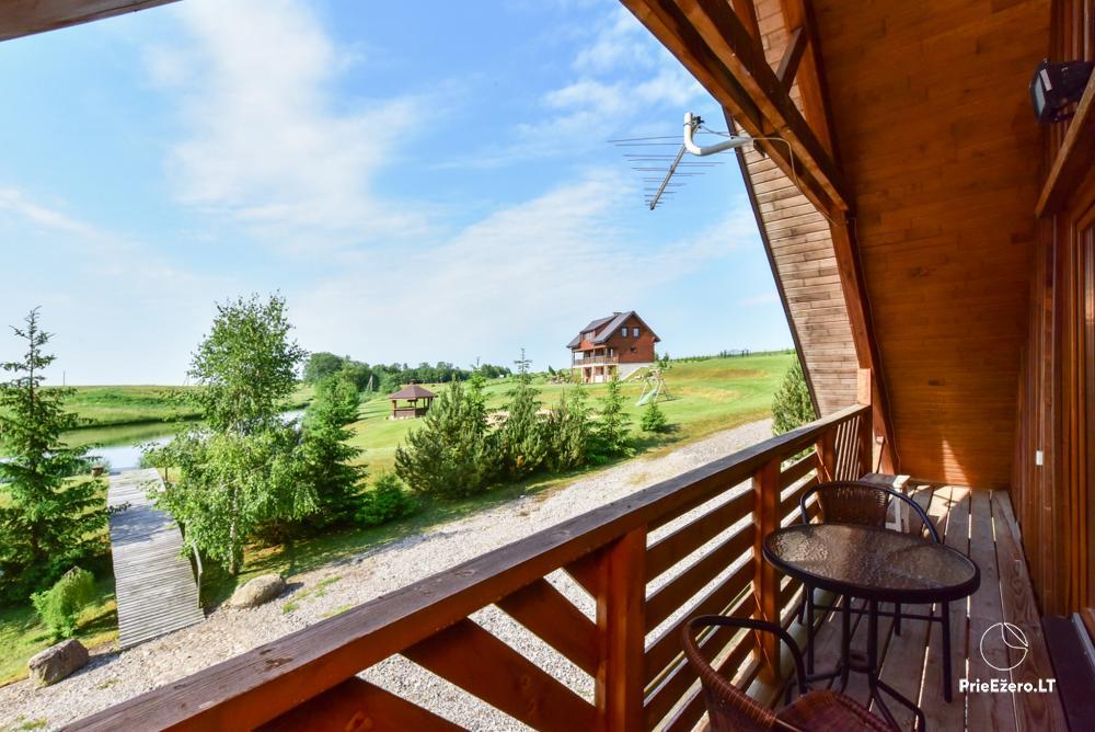 Sodyba Smilgоs slėnis Kėdainių rajone prie upės ir tvenkinio - 29