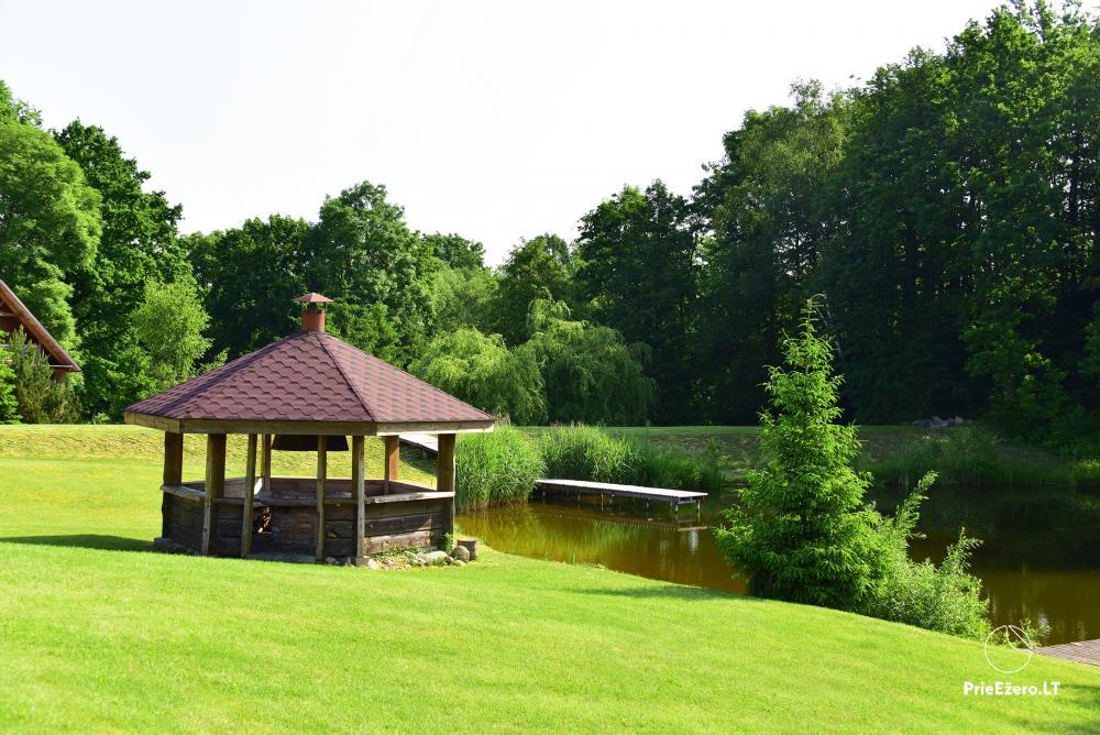 Sodyba Smilgоs slėnis Kėdainių rajone prie upės ir tvenkinio - 7