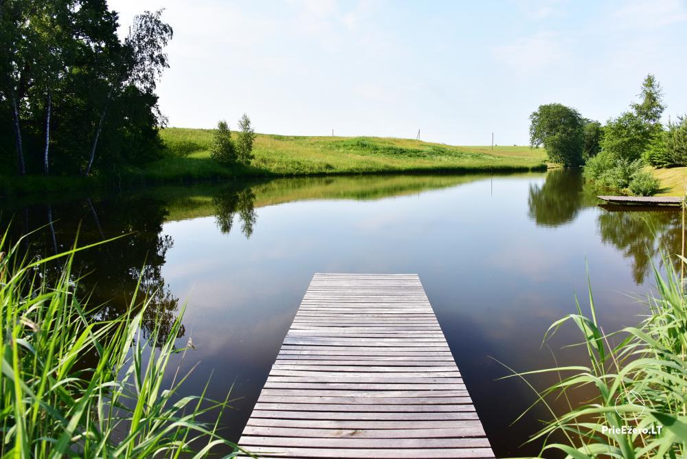 Sodyba Smilgоs slėnis Kėdainių rajone prie upės ir tvenkinio - 20