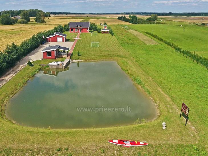 """Sodyba """"Villa Ievynė"""" Vilkaviškio rajone prie Paežerių ežero - 8"""
