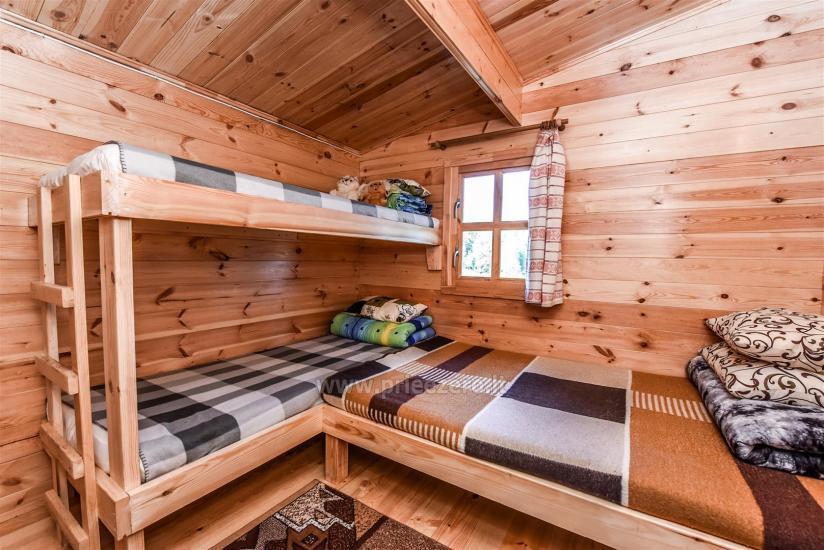 Dviejų kambarių namelis su visais patogumais