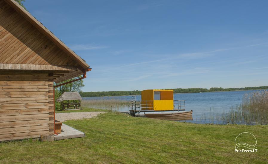 """""""Dvarčėnų ežero kranto"""" sodyba prie Daugų ežero - 10"""