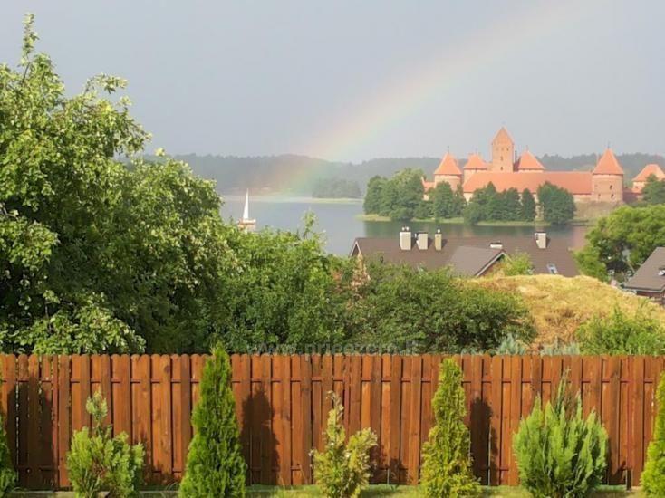 Svečių namai Trakuose PANORAMA – kambariai, apartamentai, salė, pirtis kiemas su vaizdu į Trakų pilį - 21
