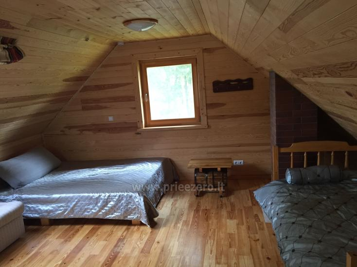 Rąstinis namelis ant Bebrusų ežero kranto - 6