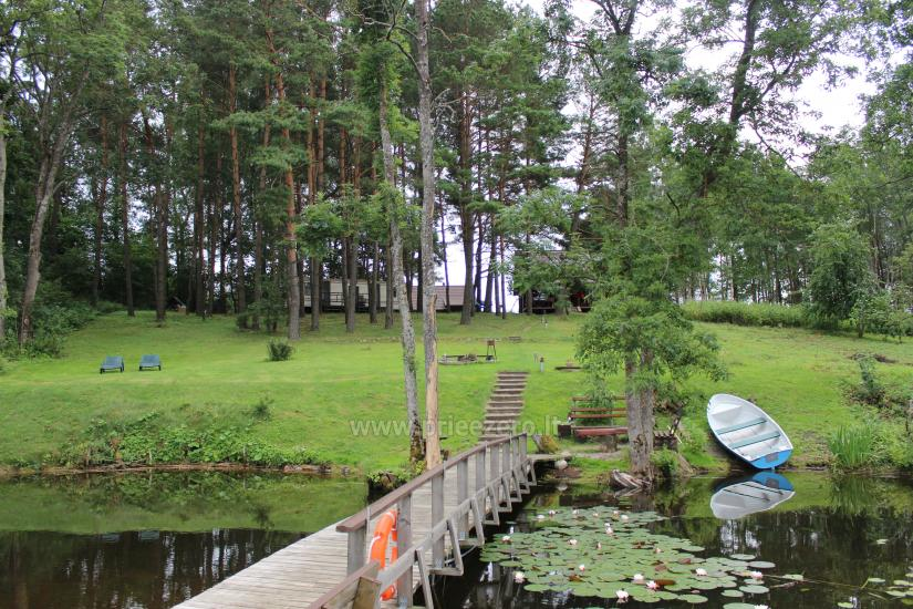 Rąstinis namelis ant Bebrusų ežero kranto - 9