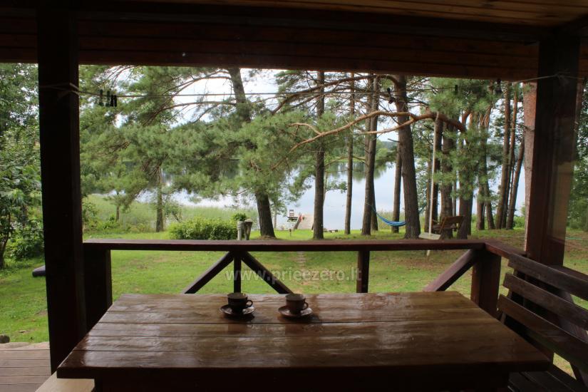 Rąstinis namelis ant Bebrusų ežero kranto - 5