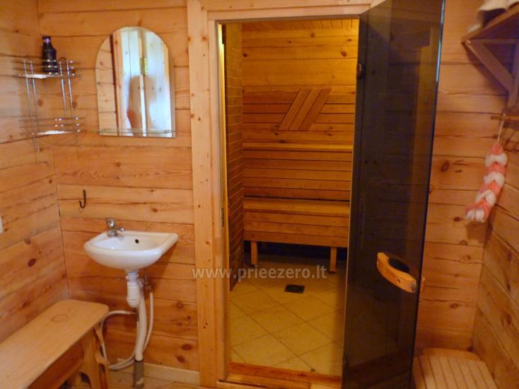 Rąstinis namelis ant Bebrusų ežero kranto - 7