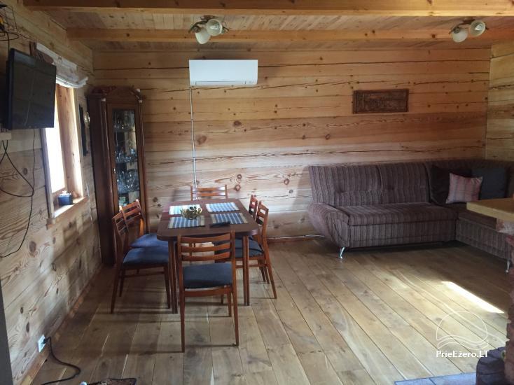Rąstinis namelis ant Bebrusų ežero kranto - 13