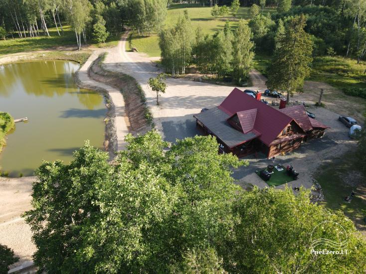 Auksinio elnio slėnis. Pirties namelis, kubilas, kempingas - 2