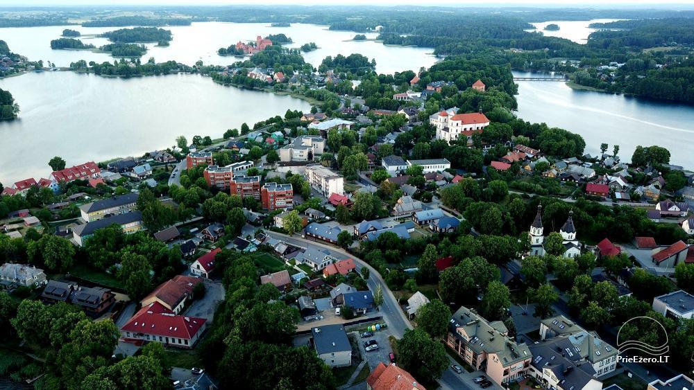 Trakai - 55 1-2 kambarių apartamentai su virtuve Trakų  miesto centre, šalia ežero - 16