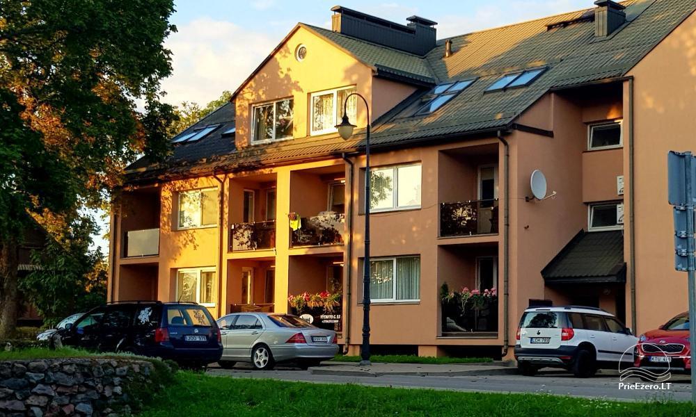 Trakai - 55 1-2 kambarių apartamentai su virtuve Trakų  miesto centre, šalia ežero - 1