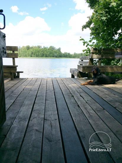 "Sodyba ""Perkūno trobelė"" – namelis su pirtimi ant ežero kranto - 5"