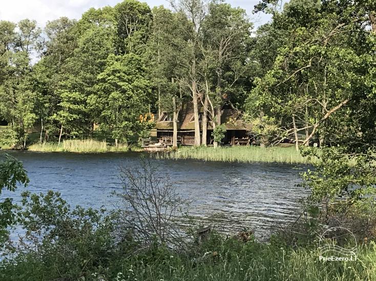 "Sodyba ""Perkūno trobelė"" – namelis su pirtimi ant ežero kranto - 2"