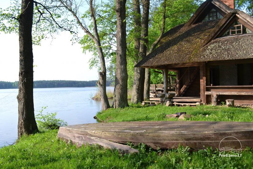 "Sodyba ""Perkūno trobelė"" – namelis su pirtimi ant ežero kranto - 1"