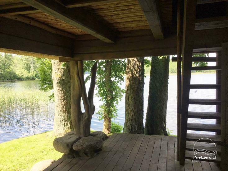 "Sodyba ""Perkūno trobelė"" – namelis su pirtimi ant ežero kranto - 3"