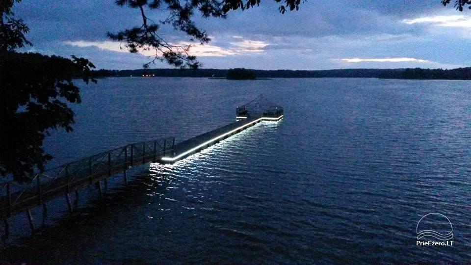 Namelis ramiam poilsiui prie Molėtų Bebrusų ežero pakrantėje - 2