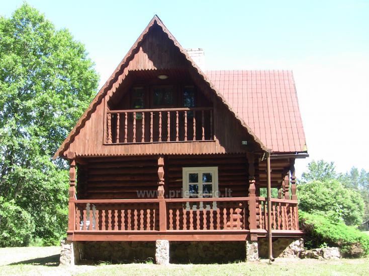 Namelis Sapiegiškių kaime, ant Seliovinio ežero kranto - 3