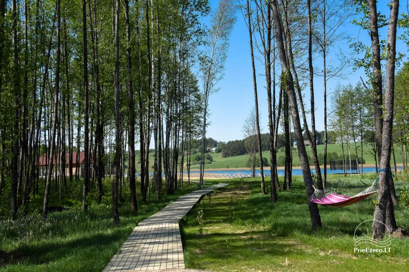 """Sodyba """"Ressort natura 2000""""-nameliai romantiniam poilsiui, salė šventėms ir konferencijoms, pirtis - 15"""