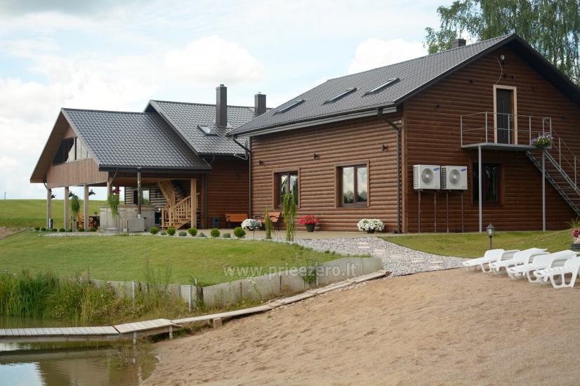 Moderni, nauja sodyba Prienų rajone Kalnų pieva - 1