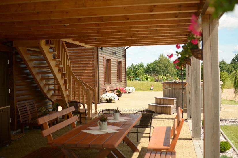 Moderni, nauja sodyba Prienų rajone Kalnų pieva - 4