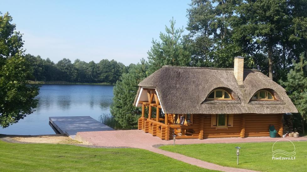 Sodyba ant ežero kranto Ukmergės rajone Pas Vytautą - 1
