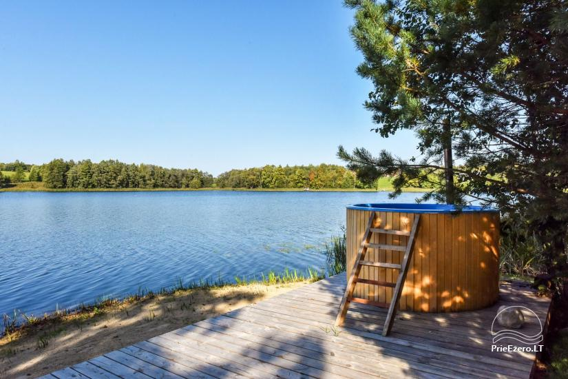 Sodyba ant ežero kranto Ukmergės rajone Pas Vytautą - 17