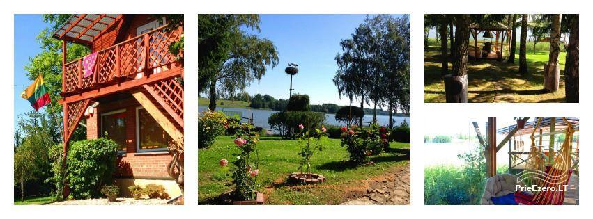 Namelių, sodybos, pirties, kubilo, baidarių nuoma prie DVIRAGIO ežero - 2