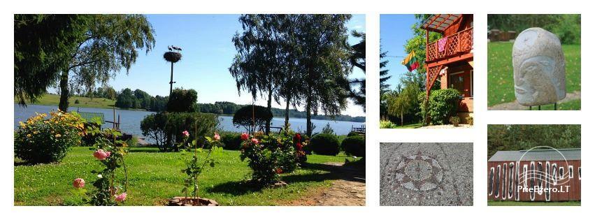 Namelių, sodybos, pirties, kubilo, baidarių nuoma prie DVIRAGIO ežero - 3
