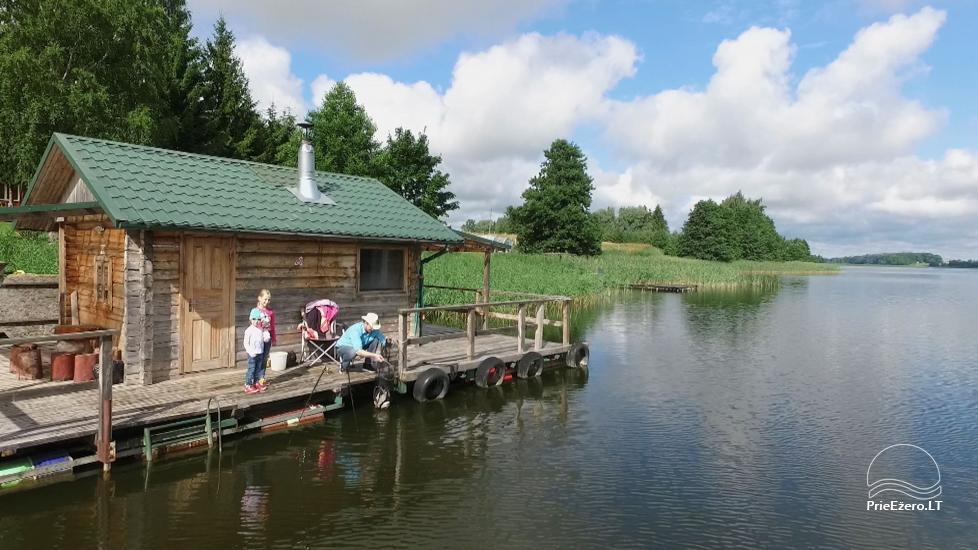 Namelių, sodybos, pirties, kubilo, baidarių nuoma prie DVIRAGIO ežero - 35
