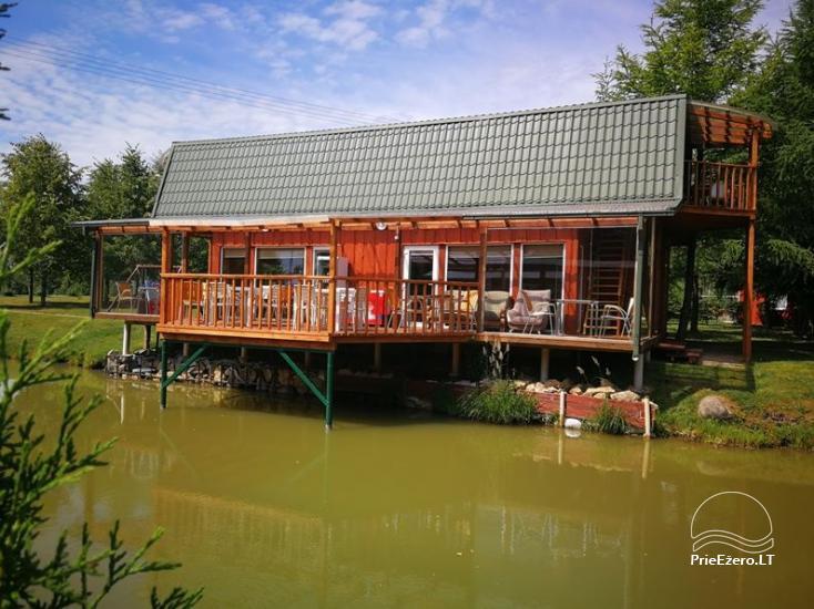 Namelių, sodybos, pirties, kubilo, baidarių nuoma prie DVIRAGIO ežero - 50