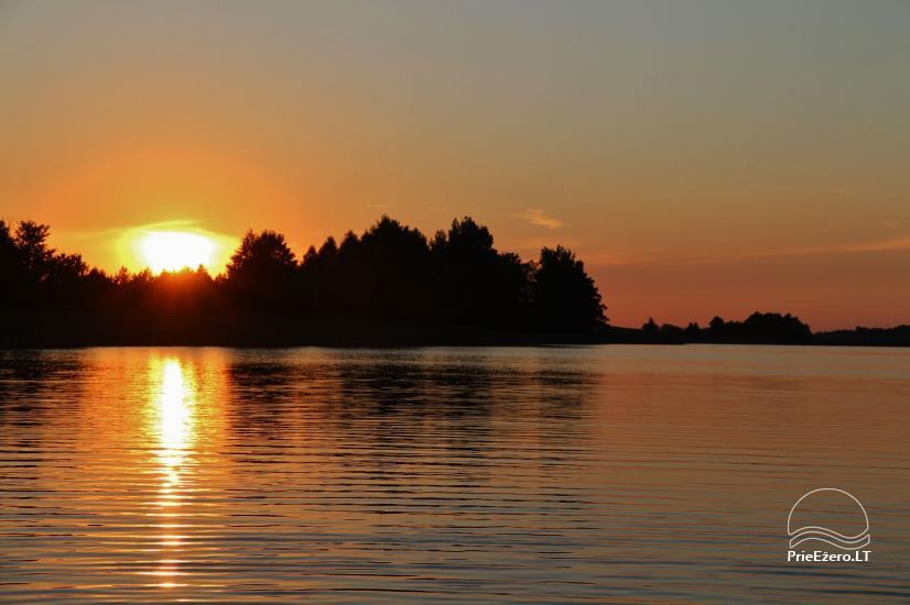 Namelių, sodybos, pirties, kubilo, baidarių nuoma prie DVIRAGIO ežero - 53