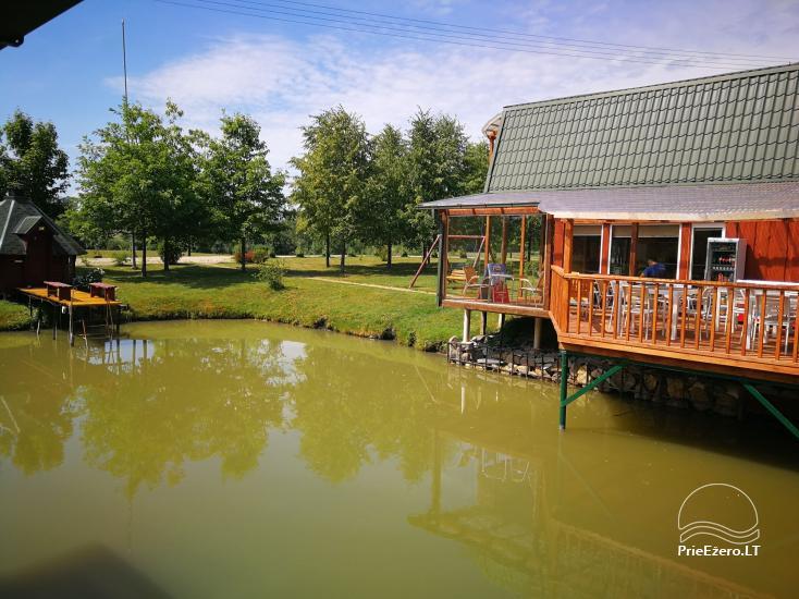 Namelių, sodybos, pirties, kubilo, baidarių nuoma prie DVIRAGIO ežero - 65
