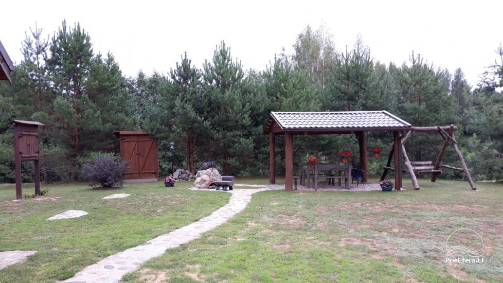 Sodyba Zarasų rajone prie Zalvio ežero Dumblynė - 4
