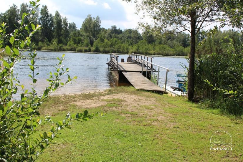 E&M sodyba Utenos rajone-ramiam poilsiui prie ežero - 15