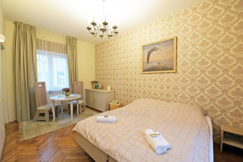 KUBU svečių namai Klaipėdoje. Moderniai įrengti apartamentai, yra sukūrinė vonia, pirtis - 19