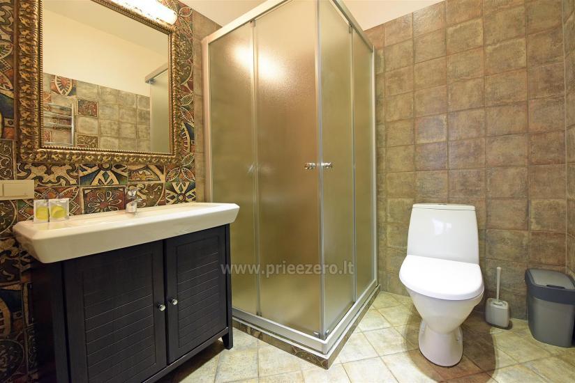 KUBU svečių namai Klaipėdoje. Moderniai įrengti apartamentai, yra sukūrinė vonia, pirtis - 20