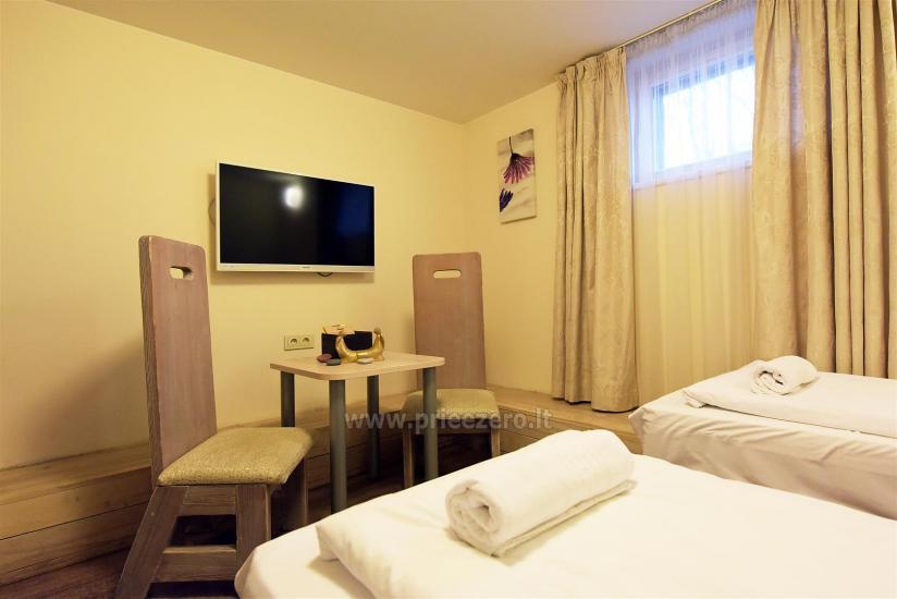 KUBU svečių namai Klaipėdoje. Moderniai įrengti apartamentai, yra sukūrinė vonia, pirtis - 27