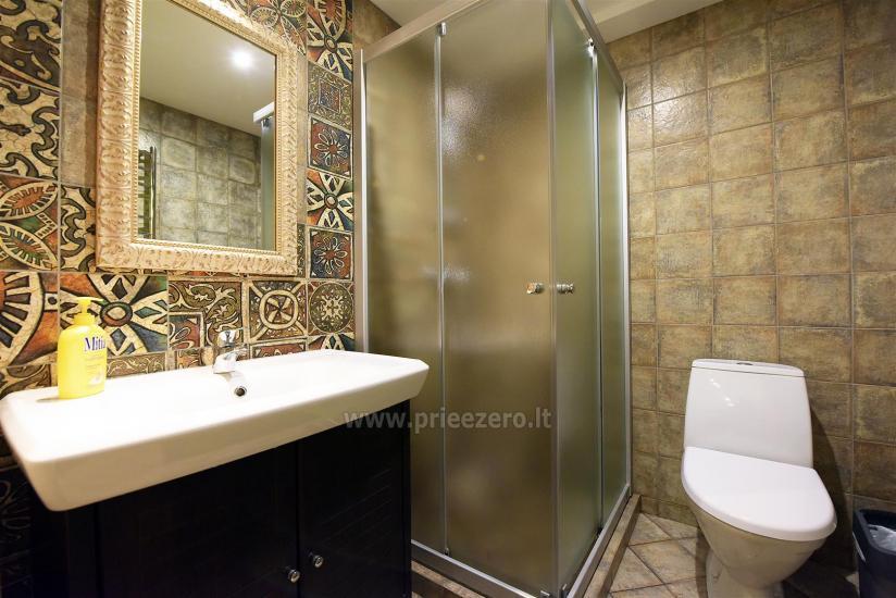 KUBU svečių namai Klaipėdoje. Moderniai įrengti apartamentai, yra sukūrinė vonia, pirtis - 29