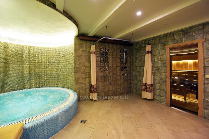 KUBU svečių namai Klaipėdoje. Moderniai įrengti apartamentai, yra sukūrinė vonia, pirtis - 49