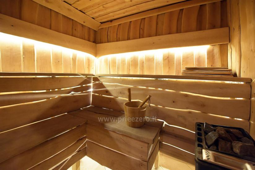 KUBU svečių namai Klaipėdoje. Moderniai įrengti apartamentai, yra sukūrinė vonia, pirtis - 56