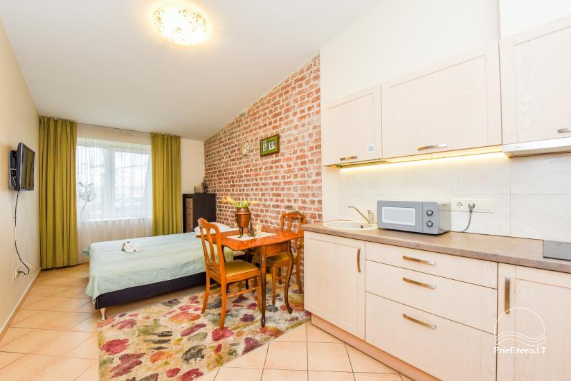 Vieno kambario apartamentai - studija