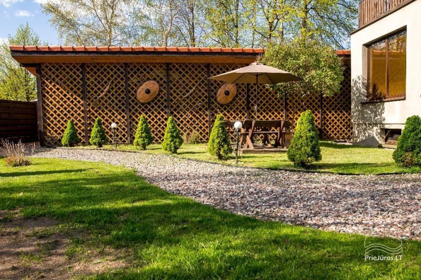Poilsiavietė FETINGAS, medinių namelių nuoma Šventojoje - 25