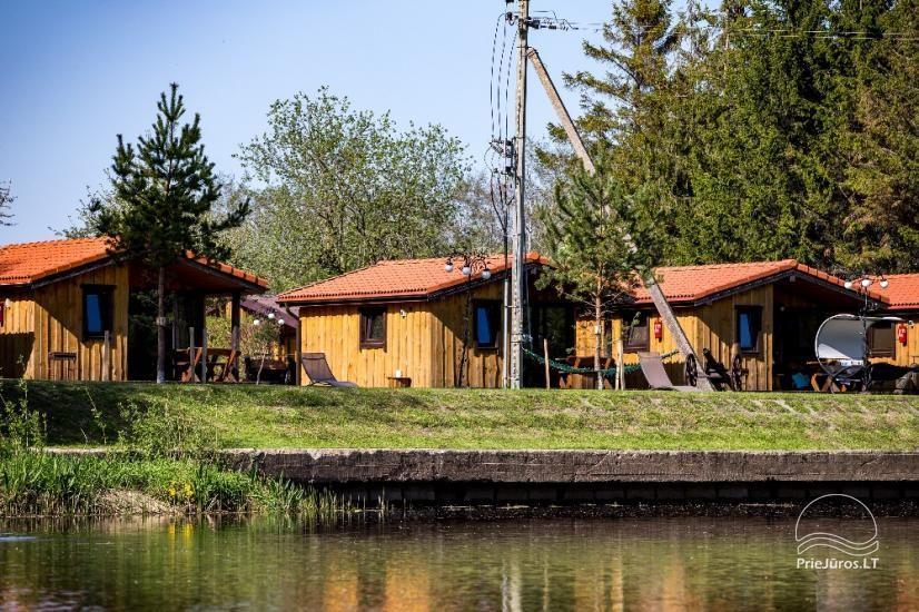 Poilsiavietė FETINGAS, medinių namelių nuoma Šventojoje - 27