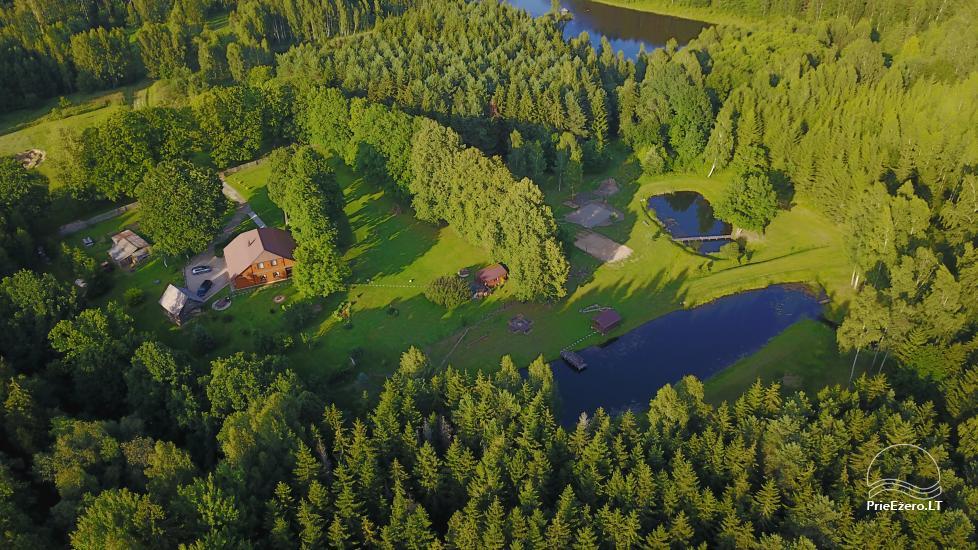 Sodyba Kelmės rajone prie Dūkstos Ežero Sodyba Dūksta - 1
