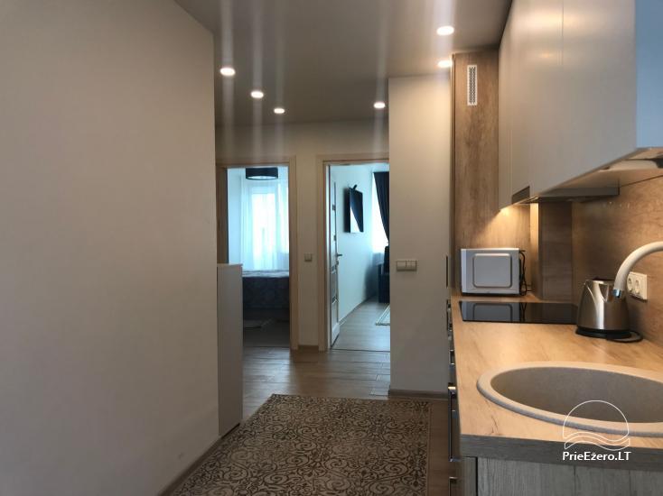 Dviejų ir trijų miegamųjų apartamentai Crystal Apartment Vytauto g., Druskininkuose - 23