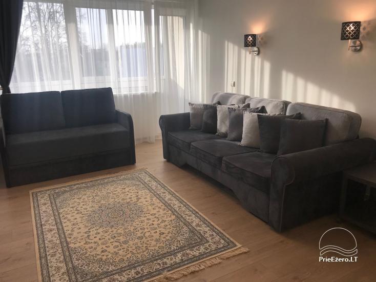 Dviejų ir trijų miegamųjų apartamentai Crystal Apartment Vytauto g., Druskininkuose - 27