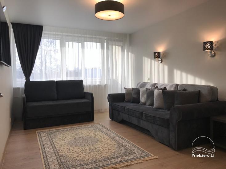 Dviejų ir trijų miegamųjų apartamentai Crystal Apartment Vytauto g., Druskininkuose - 28