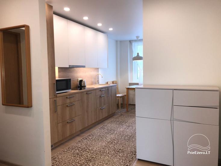 Dviejų ir trijų miegamųjų apartamentai Crystal Apartment Vytauto g., Druskininkuose - 31